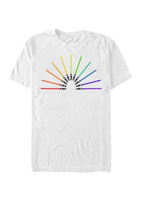Sabor Rainbow Graphic T-Shirt