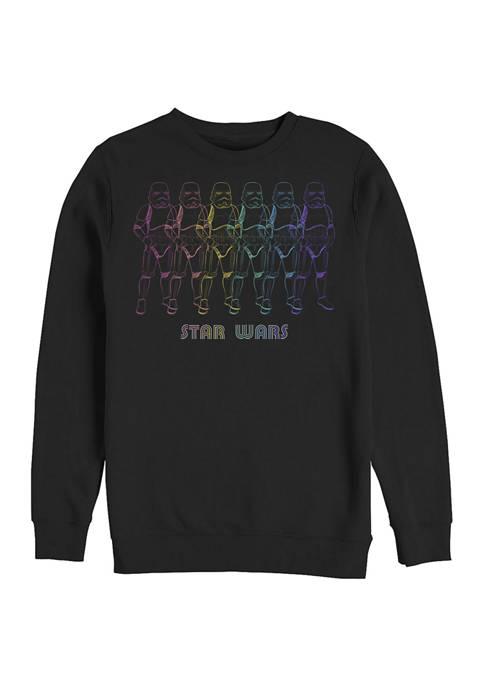Star Wars® Chrome Line Troop Crew Fleece Graphic