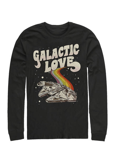 Star Wars® Galactic Love Falcon Long Sleeve Crew