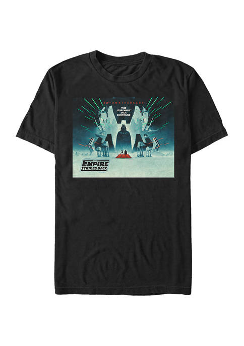 ESB Poster Square Graphic T-Shirt