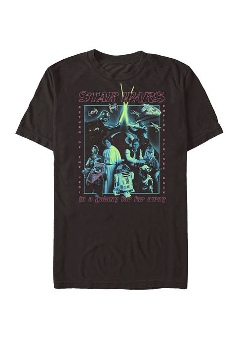 Poster Glow Short Sleeve Graphic T-Shirt