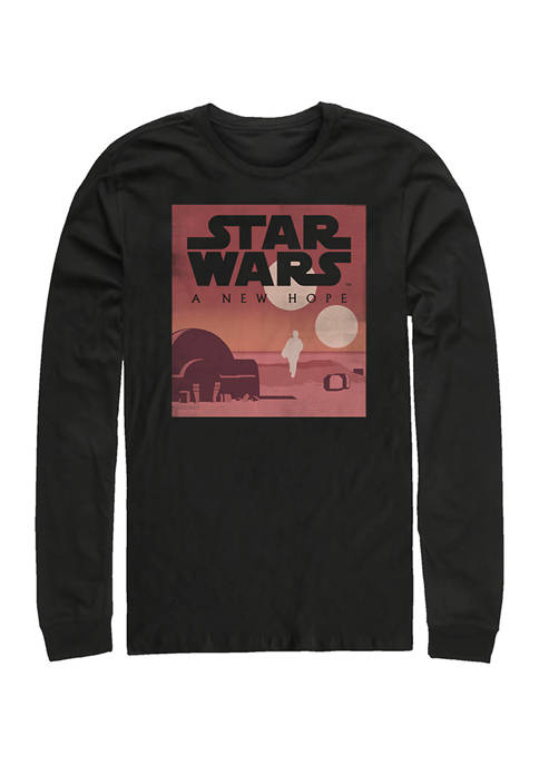 Star Wars® New Hope Minimalist Long Sleeve Crew