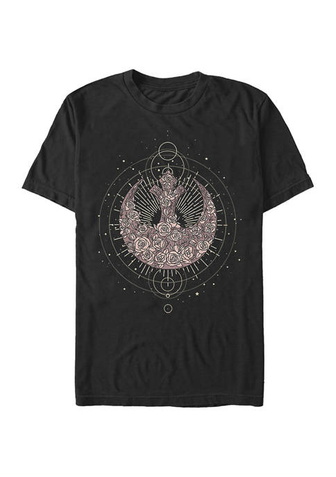 Celestial Rose Rebel Graphic T-Shirt