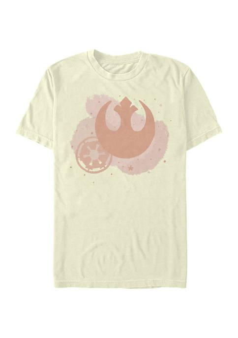 Star Wars® Minimal Brush Logos Graphic T-Shirt