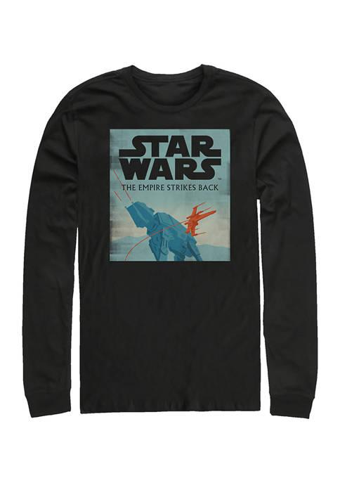 Star Wars® Empire Minimalist Long Sleeve Crew Graphic