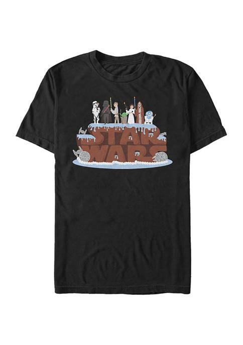 Birthday Cake Short Sleeve Graphic T-Shirt