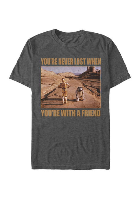 Lost Droid Friends Graphic T-Shirt