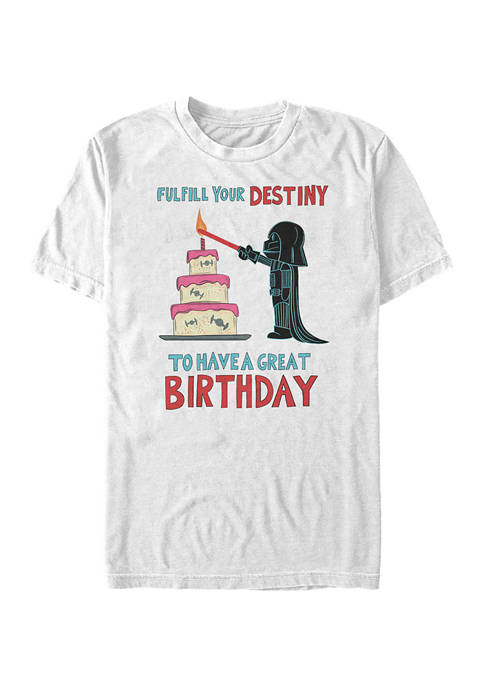 Star Wars® Fulfill Your Birthday Short Sleeve Graphic