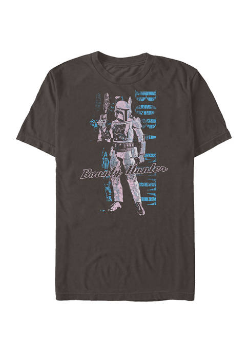 Distressed Boba Graphic T-Shirt