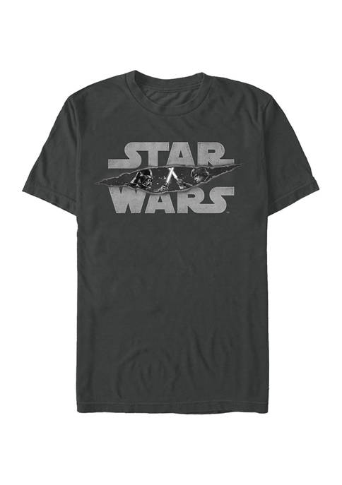 Light Saber Slash Graphic T-Shirt