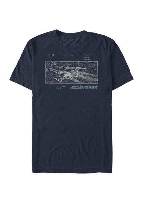 Star Wars® Concept Plate Short Sleeve Graphic T-Shirt