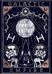 Galactic Empire Tarot Graphic T-Shirt