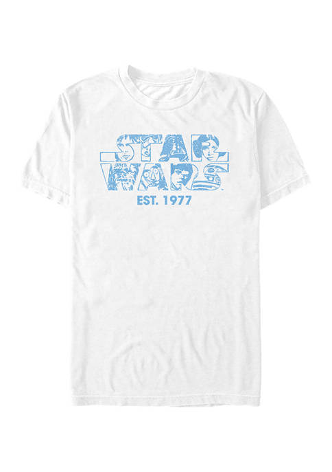 Logo Faces Graphic T-Shirt