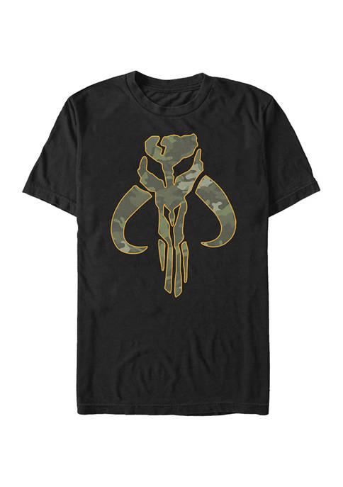 Camouflage Mando Graphic T-Shirt