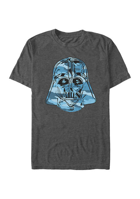 Camouflage Vader Graphic T-Shirt