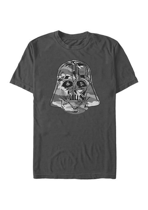 Camo Vader Short Sleeve Graphic T-Shirt