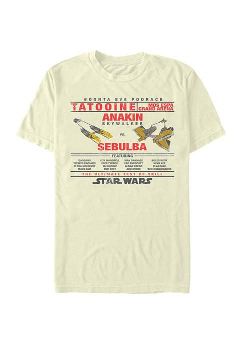 Anakin Vs Sebulba Graphic T-Shirt