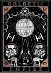 Galactic Empire Tarot Crew Fleece Graphic Sweatshirt