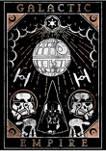 Galactic Empire Tarot Fleece Graphic Hoodie