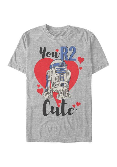 You R2 Cute Short Sleeve Graphic T-Shirt