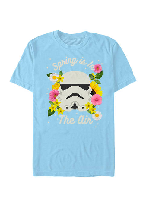 Spring Trooper Graphic Short Sleeve T-Shirt