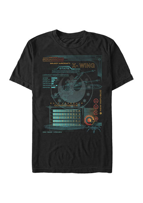Star Wars® - Squadron X-Wing Game Components Short