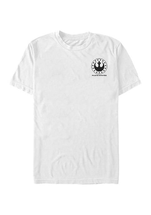 - Squadron Rebel Logo Short Sleeve Graphic T-Shirt