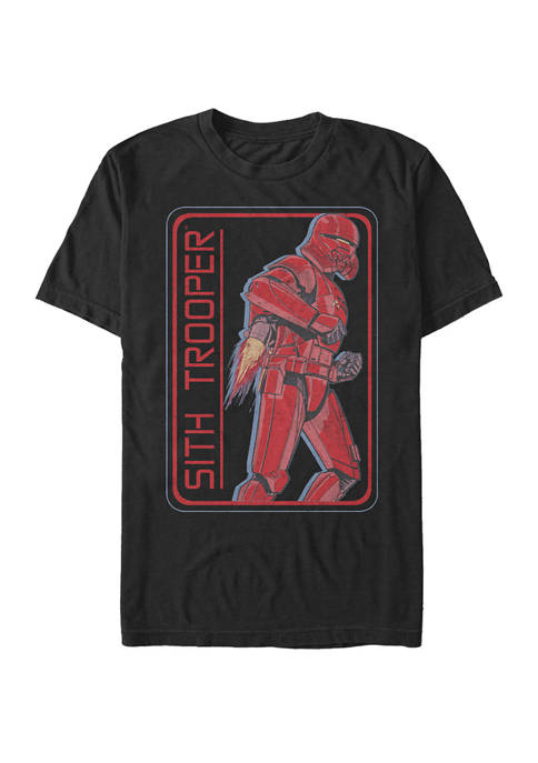 Big & Tall Episode 9 Sith Trooper Short Sleeve Graphic T-Shirt