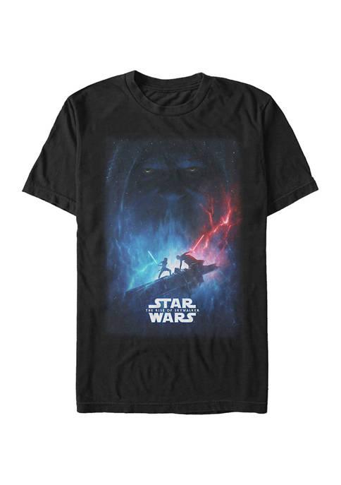 Big & Tall Star Wars® TROS Movie Poster Graphic Short Sleeve T-Shirt