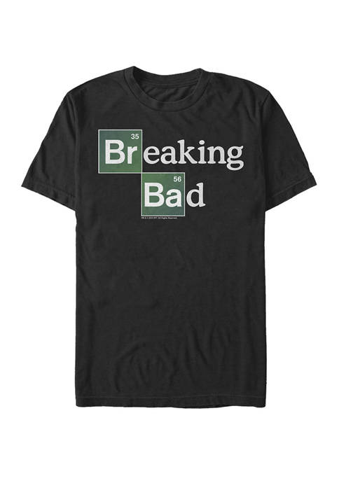 Breaking Bad Periodic Square Logo Short Sleeve T-Shirt