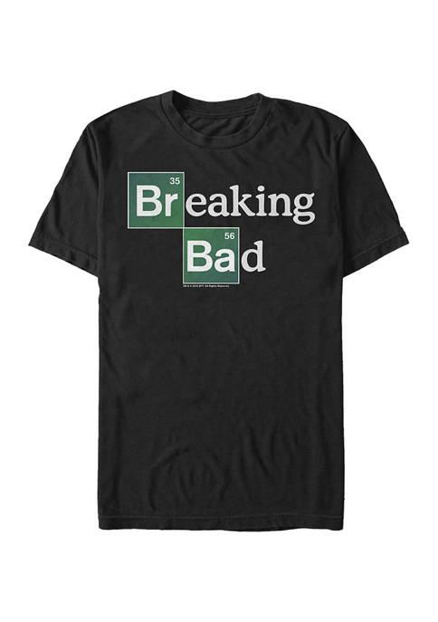 Big & Tall Breaking Bad The Logo Graphic Short Sleeve T-Shirt