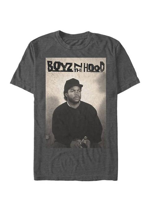 Big & Tall Ice Cube Portrait Short Sleeve T-Shirt