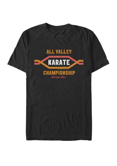 Cobra Kai All Valley Karate Championship Short Sleeve