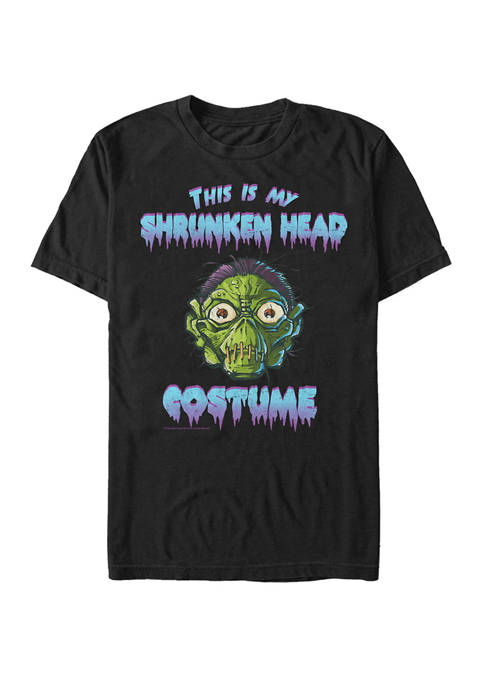 Goosebumps Big & Tall Classic Shrunken Head Halloween