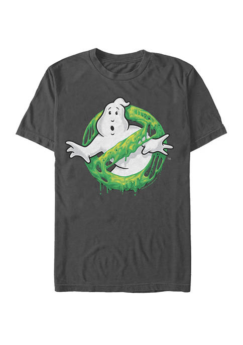 Ghostbusters Classic Slim Ghost Logo Short Sleeve T-Shirt