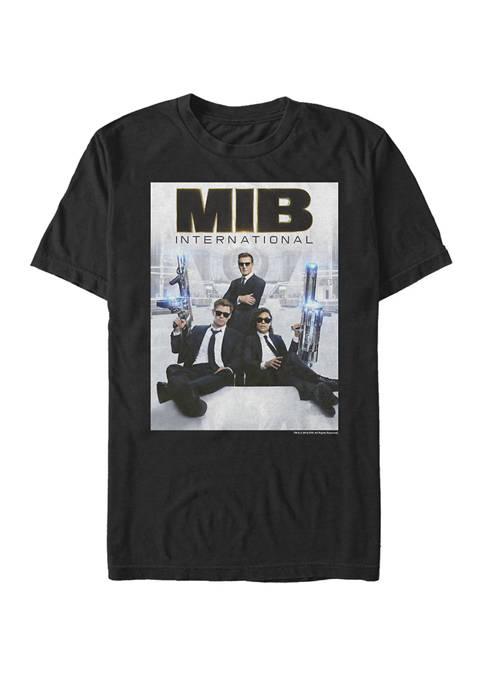 Men In Black International Bold Logo Poster Short