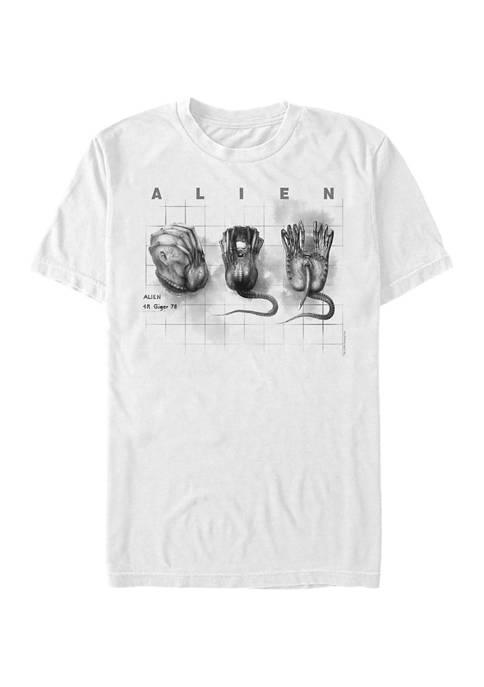 Alien Facehugger Concept Graphic T-Shirt