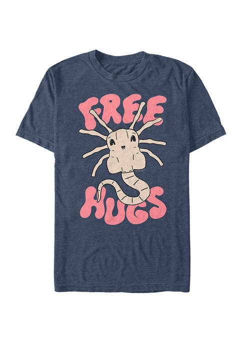 Alien Free Huggers Graphic T-Shirt