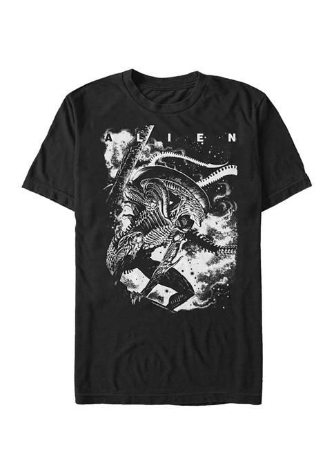 Alien Dark Graphic T-Shirt