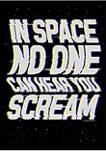 Space Scream Graphic T-Shirt