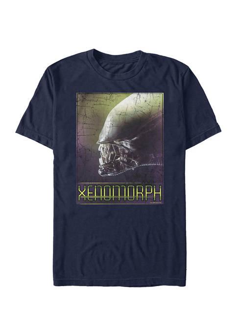 Alien XenoMorph Profile Graphic T-Shirt