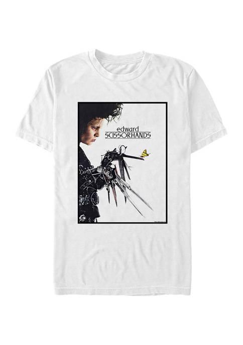 Edward Scissorhands Butterfly Poster T-Shirt