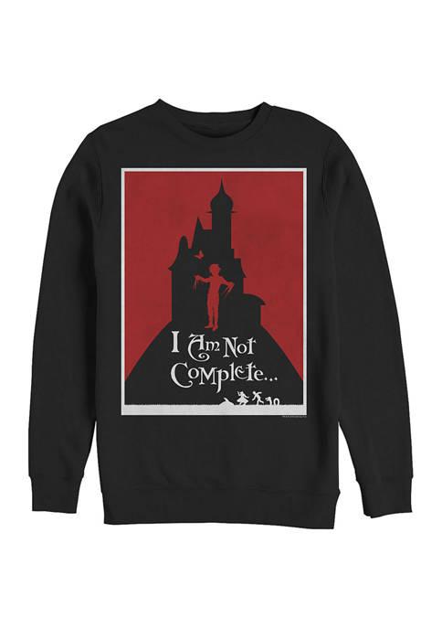 Minimal Poster Crew Fleece Sweatshirt