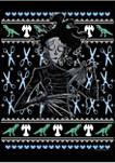 Edward Scissorhands Intarsia Scissorhands Graphic Fleece Hoodie
