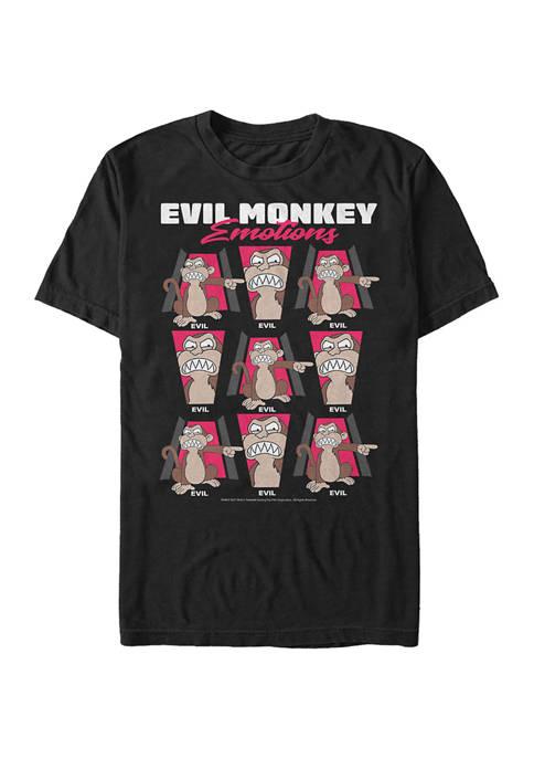 Family Guy Evil Monkey Emote T-Shirt