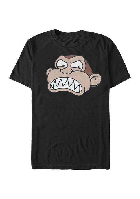 Family Guy Evil Monkey Face Graphic T-Shirt