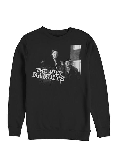 Home Alone The Wet Bandits Crew Fleece Graphic