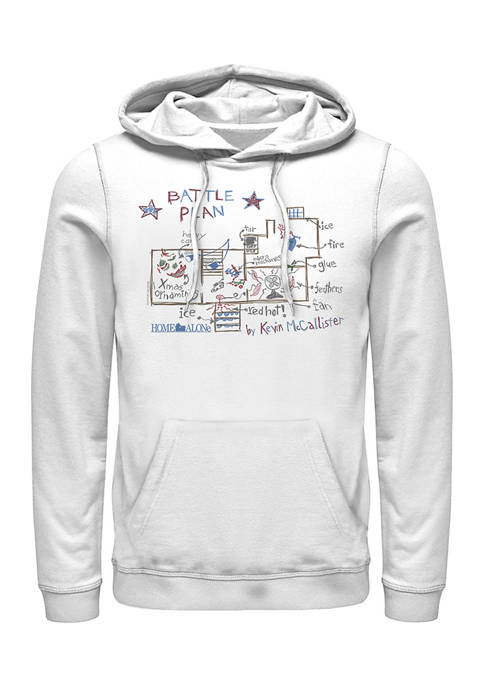 Home Alone Kevins Plan Graphic Fleece Hoodie
