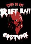 Rocky Horror Picture Show This is My Riff Raff Costume Graphic Fleece Hoodie