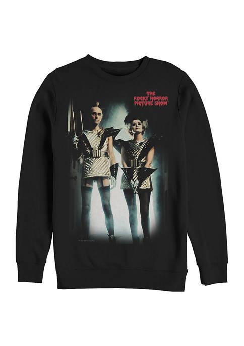 Rocky Horror Picture Show Gold Scene Crew Fleece Graphic Sweatshirt
